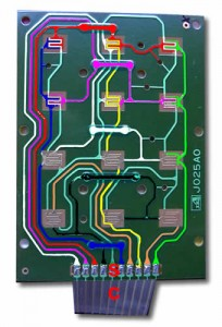 PCB reverse engineering by using a Photoshop