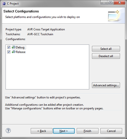 new_AVR_project_configuration_in_eclipse