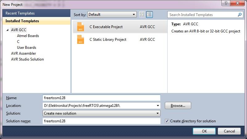 AVRStudio project