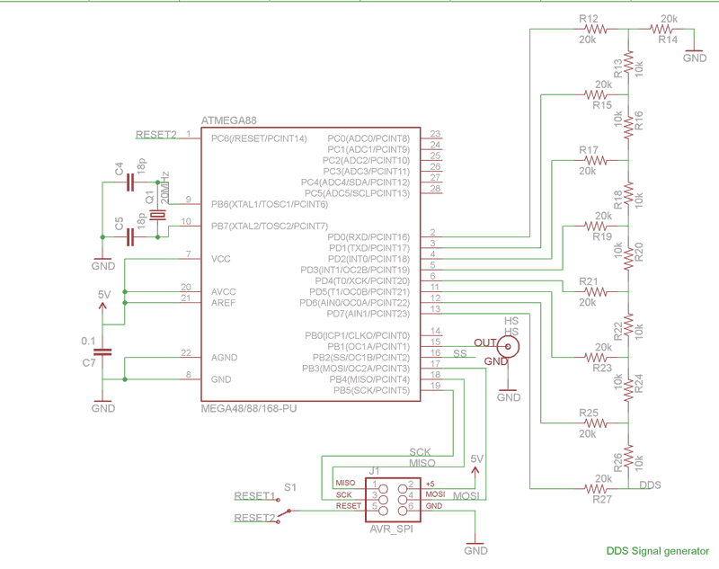 dds3 circuit