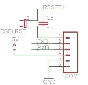 Fixed reset circuit