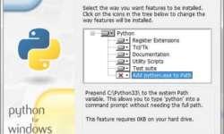 installing python3 - path variable