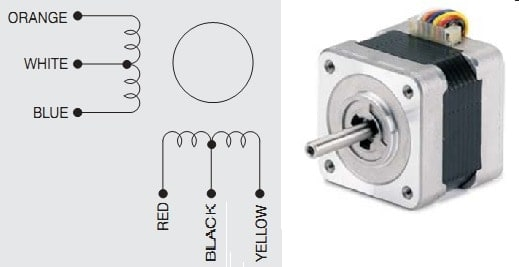 103-546-5342 steper motor