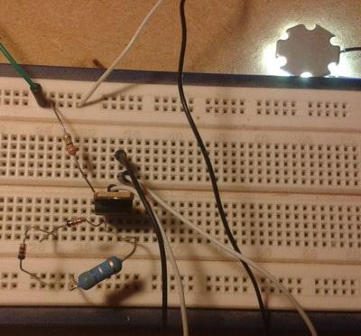 assembled LED driver