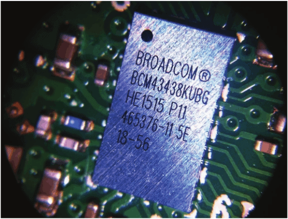 Broadcom BCM43438 on raspberry pi 3