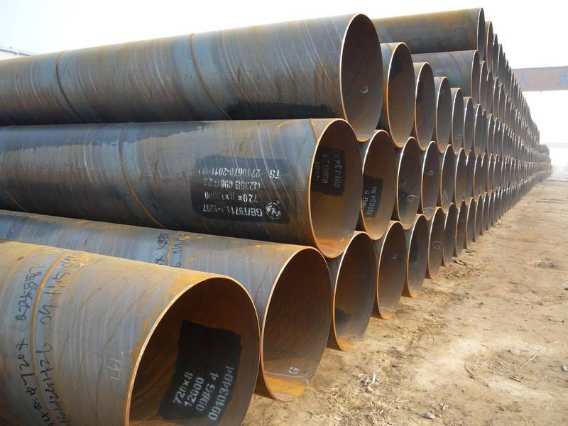 pile of pipes