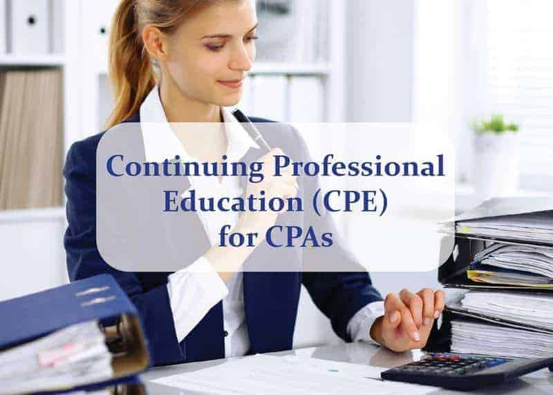 rofessional Education (CPE) for CPAs