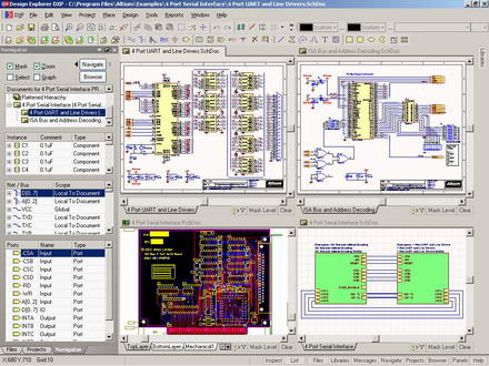 Altium Protel DXP Design Explorer