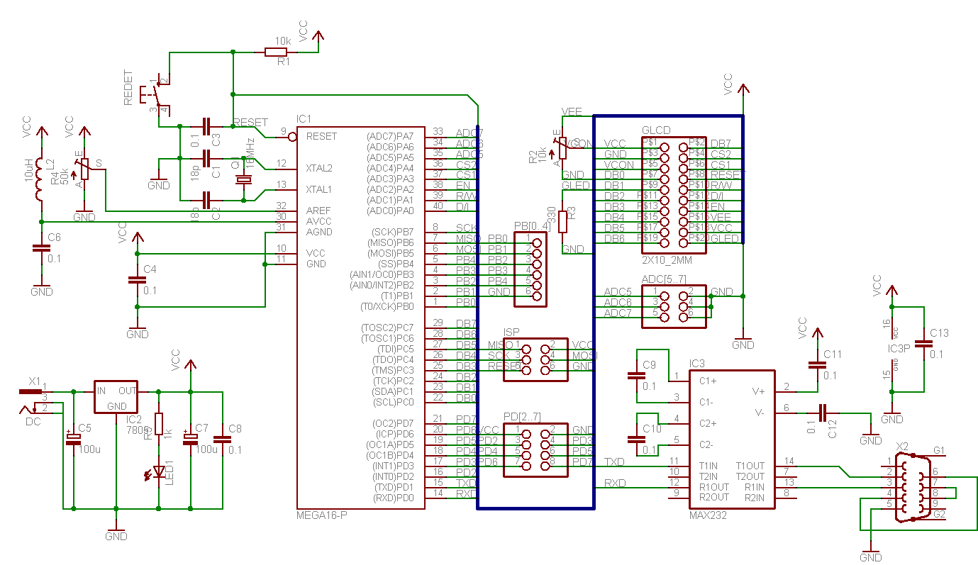 AVR Graphical LCD