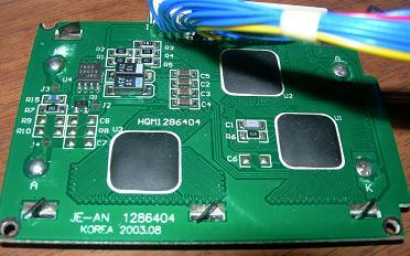 128x64 LCD based on KS0108