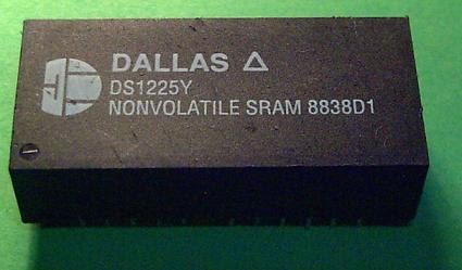 Dallas NVRAM chip DS1225