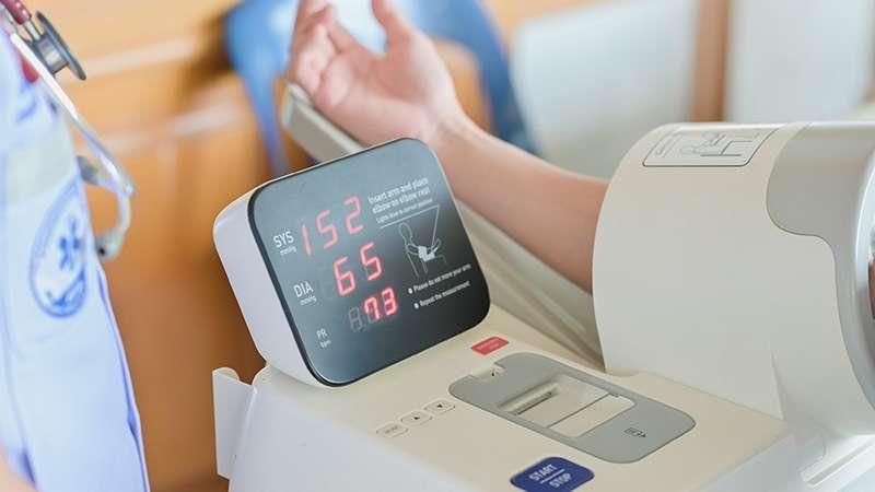 automatic blood pressure measure