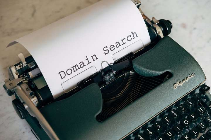 searching for a domain name
