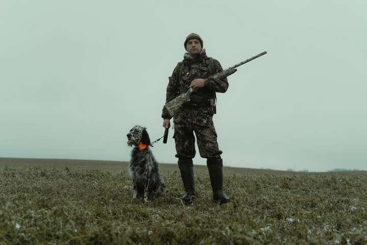hunter and the dog