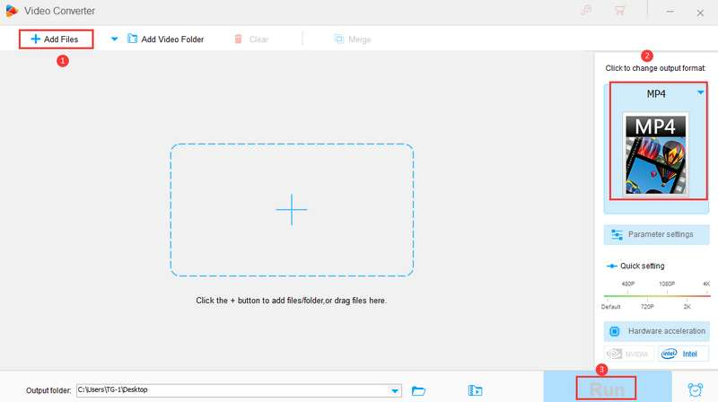 how to use it to convert video formats