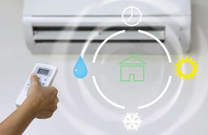 hvac indoor unit operation cycle