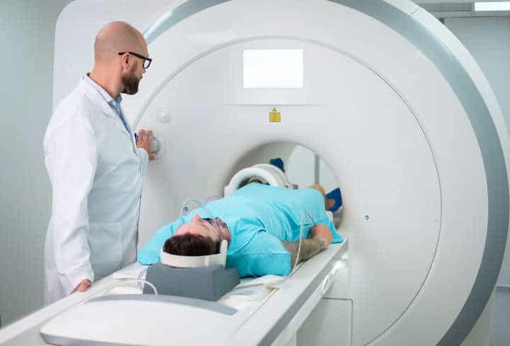 MRI scanning proces