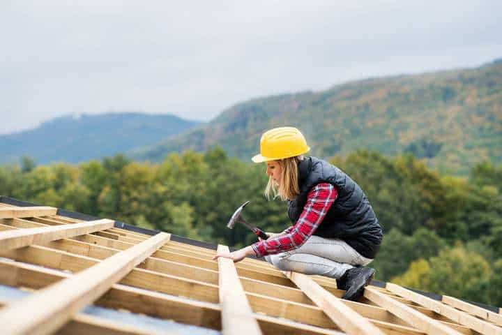 roofer woman