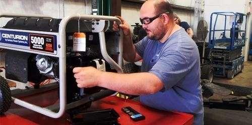 servicing generators