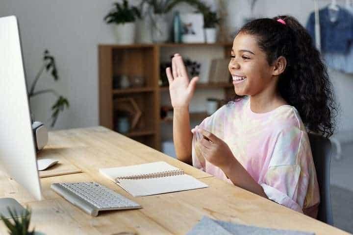 kids online activity