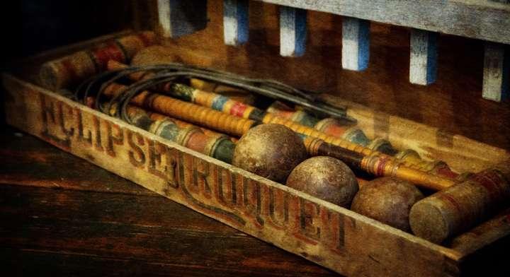 croquet box