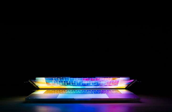 laptop with rgb keyboard