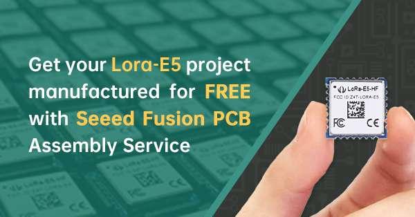 PCBA Sponsorship for LoRa-E5