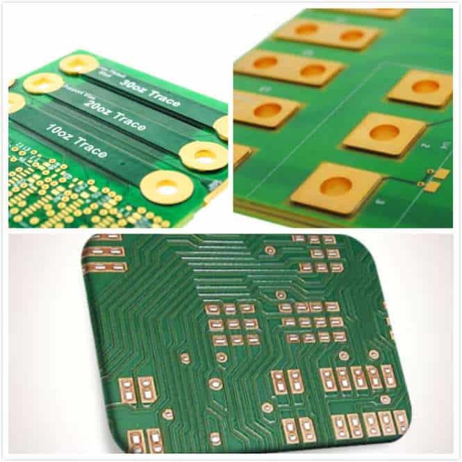 Heavy Copper PCB samples