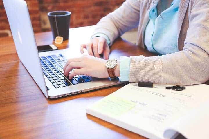 typing kayboard