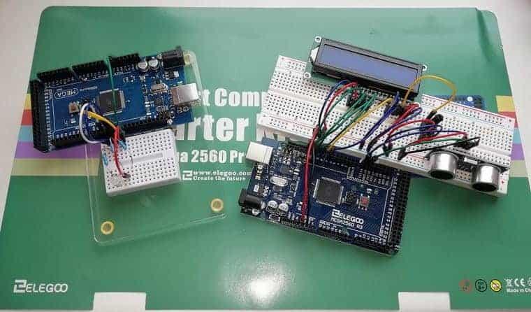 Arduino boards breadboard projects