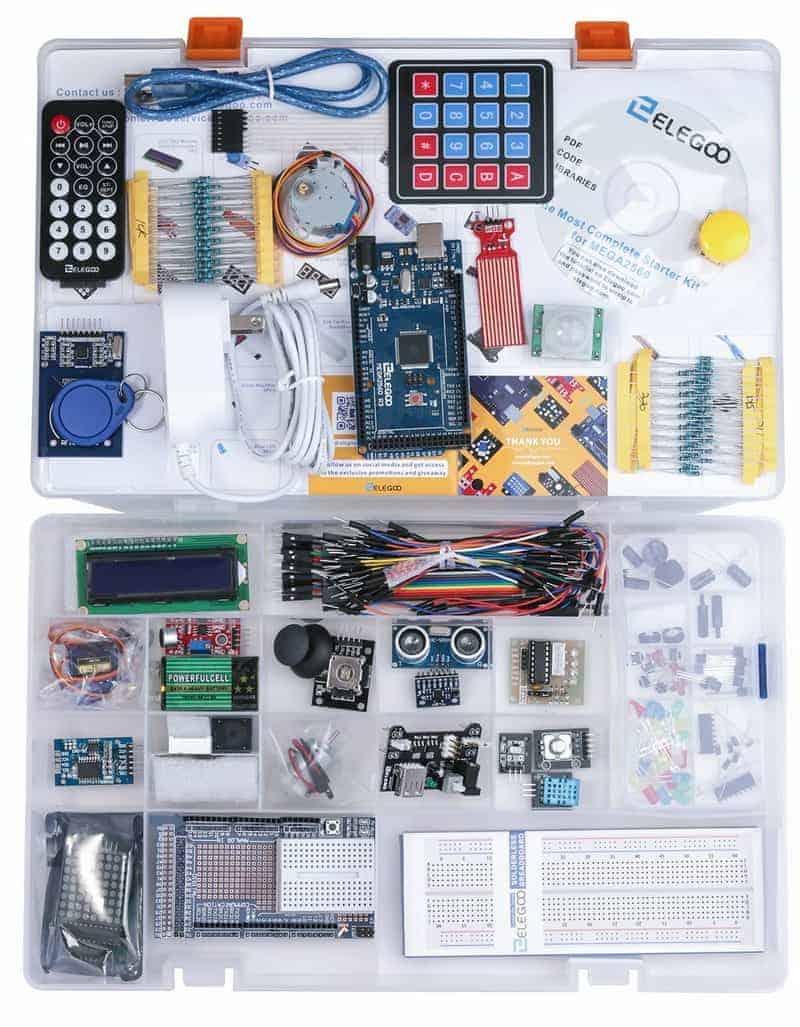 Elegoo EL-KIT-008 Mega 2560 Project, The Most Complete Ultimate Starter Kit