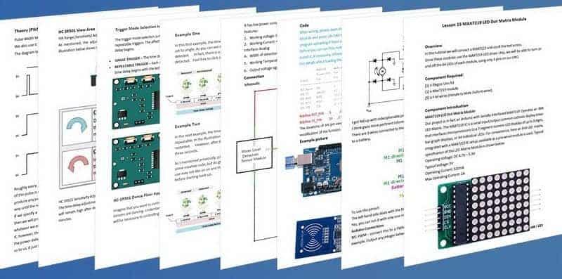 elegoo learning documentation
