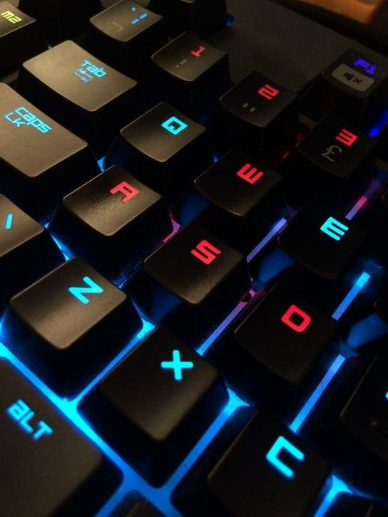 gamers keyboard
