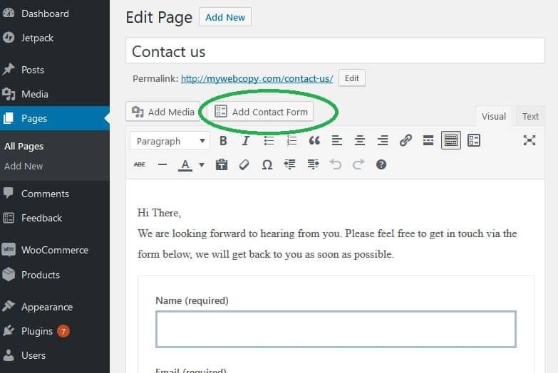 wordpress_classic_editor_page