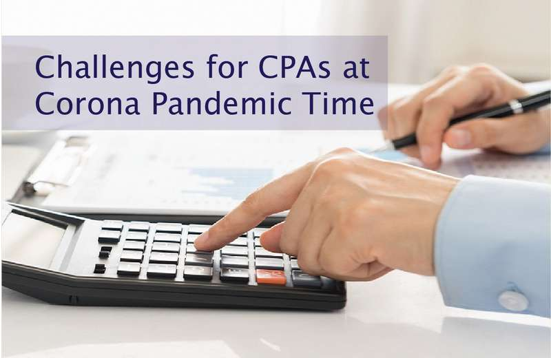 Challenges for CPAs at Corona Pandemic Time