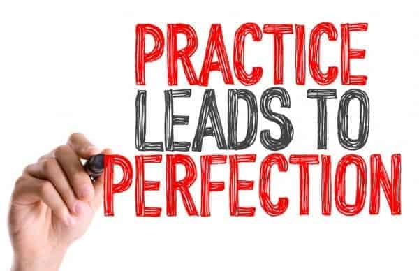 practice leads to perfection