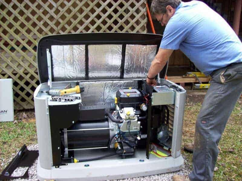 electric generator repair